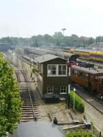 Museumbahn/284928/seinhuis-van-de-stichting-stoomtram-hoorn-medemblik Seinhuis van de stichting Stoomtram Hoorn-Medemblik. Hoorn 24-07-2013.  Stellwerk Museumbahn 'Stoomtram Hoorn-Medemblik'. Hoorn 24-07-2013.