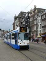 amsterdam-gvb/149328/gvba-tw-825-rokin-amsterdam-27-05-2011 GVBA Tw 825 Rokin, Amsterdam 27-05-2011.