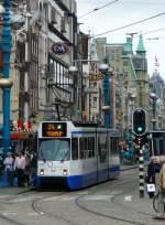 amsterdam-gvb/154456/gvba-tw-826-damrak-amsterdam-27-05-2011 GVBA TW 826 Damrak Amsterdam 27-05-2011.