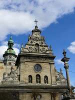 lviv-lemberg/2923/andreaskirche-gebaut-1600-1630-fotografiert-am-17-09-2007 Andreaskirche. Gebaut 1600-1630. Fotografiert am 17-09-2007.