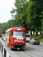 strasenbahn/21278/847-in-lviv-am-04-06-2009 847 in Lviv am 04-06-2009.